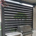 aluminum slat fence alberta