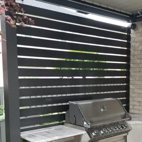aluminum slat fence chicago