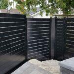 aluminum slat fence toronto