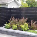aluminum slat fence oakville