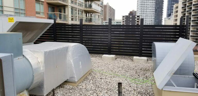 aluminum slat fence manitoba