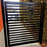 aluminum slat fence new york